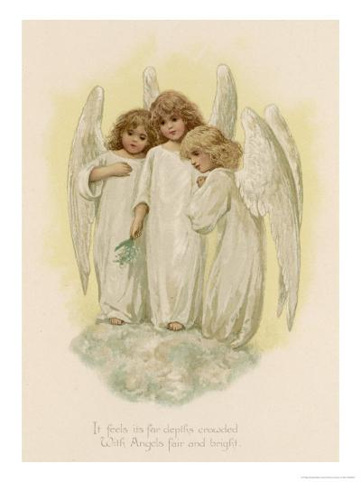 Three Young Angels-Phillips Brooks-Giclee Print