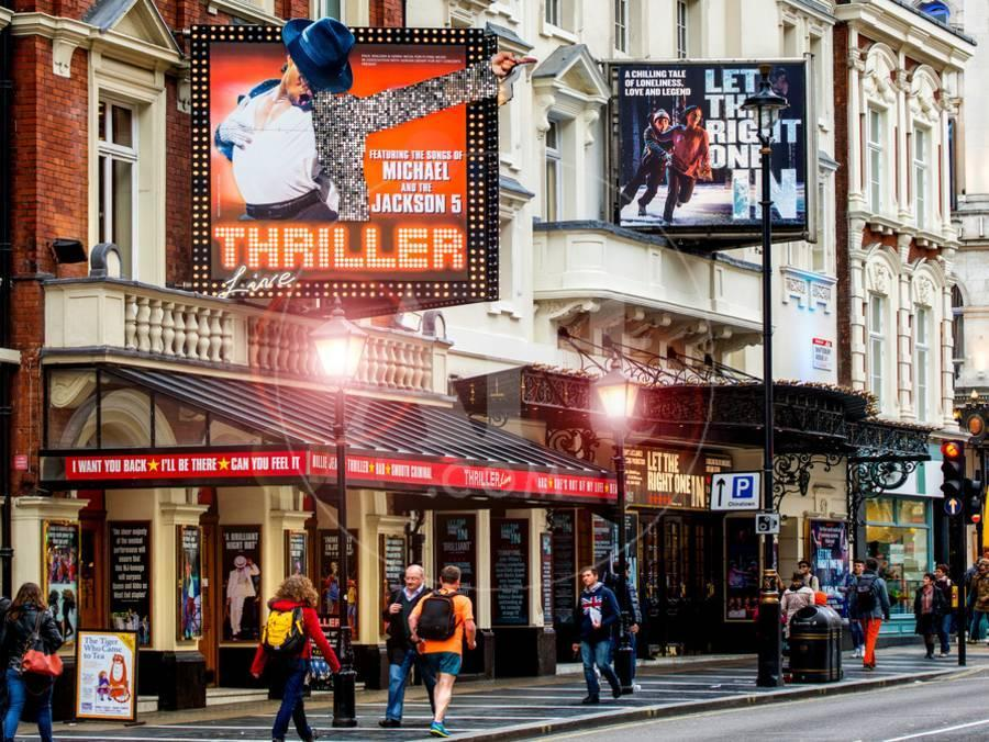 Thriller Live Lyric Theatre London - Celebration of Michael Jackson -  Apollo Theatre - England Photographic Print by Philippe Hugonnard | Art com