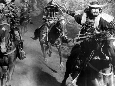 Throne Of Blood, (AKA Kumonosu Jo), Toshiro Mifune, 1957--Photo