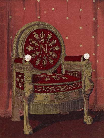 Throne of Napoleon I--Giclee Print