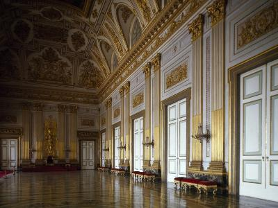 Throne Room, Interior of Royal Palace of Caserta--Photographic Print
