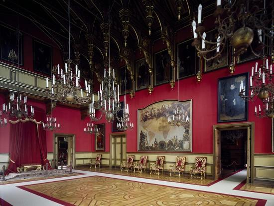 Throne Room, Miramare Castle, Trieste, Friuli-Venezia Giulia, Italy--Giclee Print