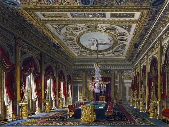 Throne Room--Giclee Print