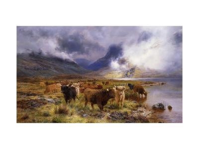 Through Glencoe by Way to the Tay-Louis Bosworth Hurt-Giclee Print