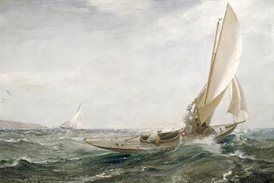 Through Sea and Air, 1910-Charles Napier Hemy-Giclee Print