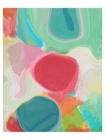 Through Spring Kaleidoscope I--Art Print