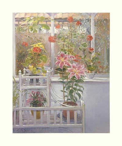 Through the Conservatory Window-Timothy Easton-Art Print