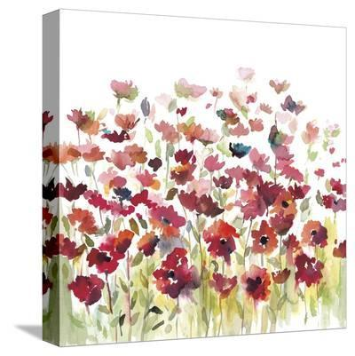 Through the Garden-Rebecca Meyers-Stretched Canvas Print