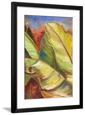 Through the Leaves I-Patricia Pinto-Framed Premium Giclee Print