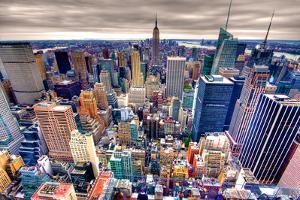 Empire State Building and Midtown Manhattan by Through the Lens