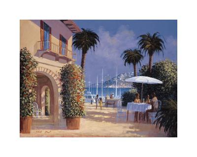 Through the Palms-David Short-Giclee Print