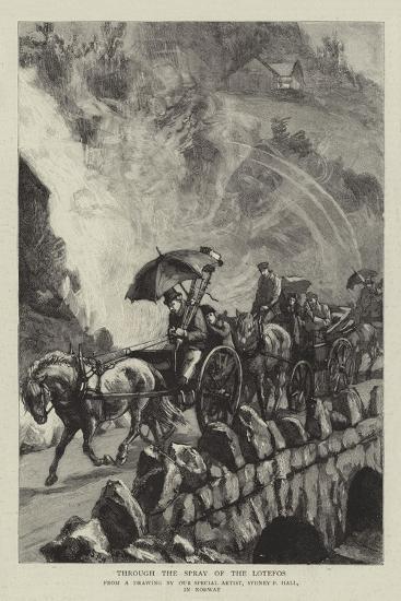 Through the Spray of the Lotefos-Sydney Prior Hall-Giclee Print