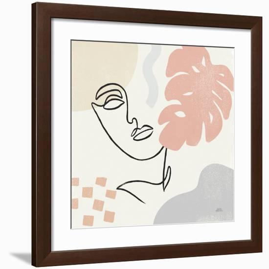 Through the Window I-Laura Marshall-Framed Premium Giclee Print