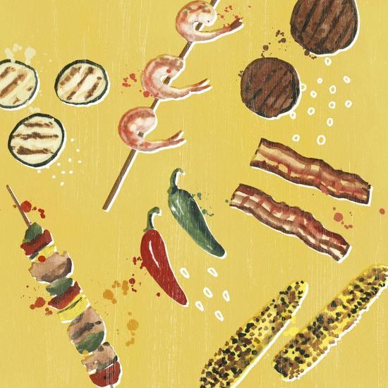 Throw it on the Grill I-Victoria Borges-Art Print