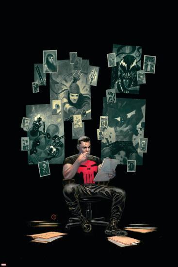 Thuderbolts #12 Cover: Punisher, Venom, Elektra, Deadpool, Red Hulk-Julian Totino Tedesco-Art Print