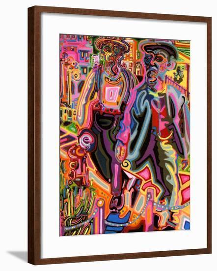 Thugs-Josh Byer-Framed Giclee Print