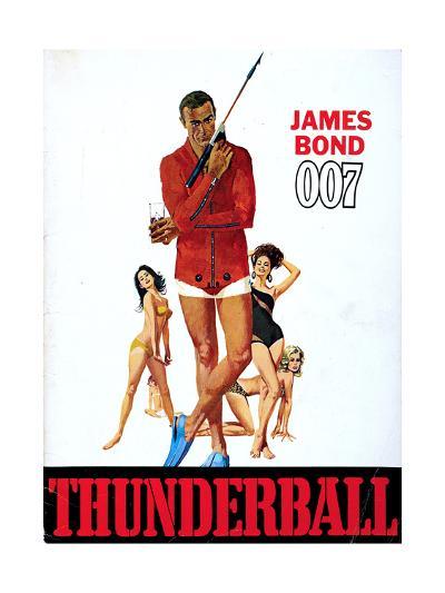 Thunderball, Sean Connery 1965--Giclee Print