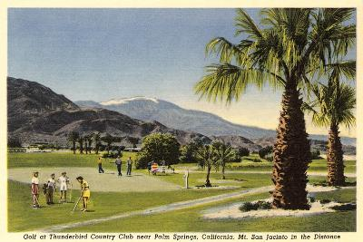 Thunderbird County Club, Palm Springs--Art Print