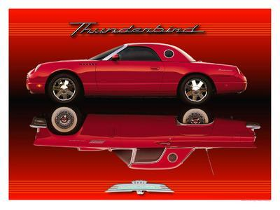 Thunderbird, Old and New--Giclee Print