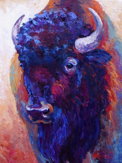 Thunderhorse-Marion Rose-Giclee Print