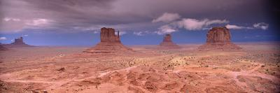 Thunderstorm over a Landscape, Monument Valley, San Juan County, Utah, USA--Photographic Print