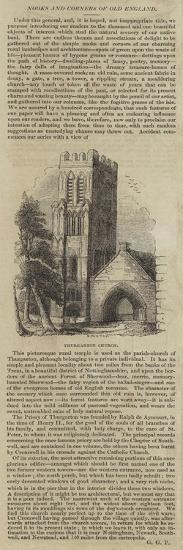 Thurgarton Church--Giclee Print