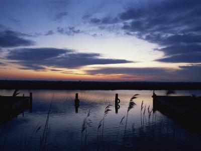 Thurne Broad, Norfolk Boards, Norfolk, England, United Kingdom, Europe-Charles Bowman-Photographic Print