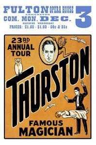 Thurston, Famous Magician 23rd Annual Tour