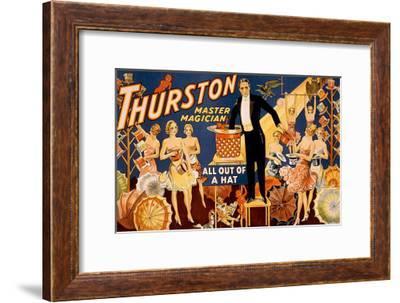 Thurston Master Magician--Framed Giclee Print