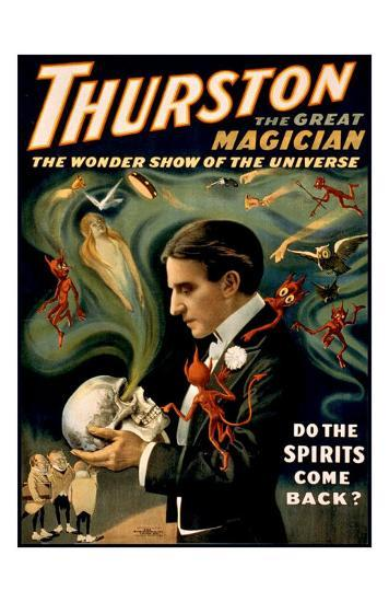 Thurston the Great Magician--Giclee Print