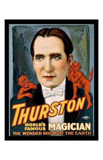Thurston World Famous Magician--Giclee Print