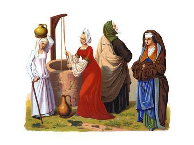 Women and a Man from the 15th and 16th Centuries