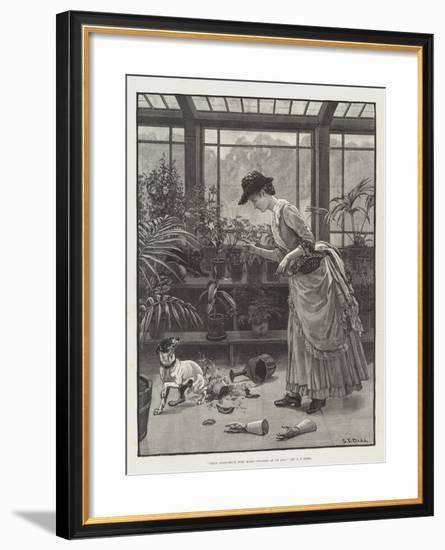 Thus Conscience Does Make Cowards of Us All-S.t. Dadd-Framed Giclee Print