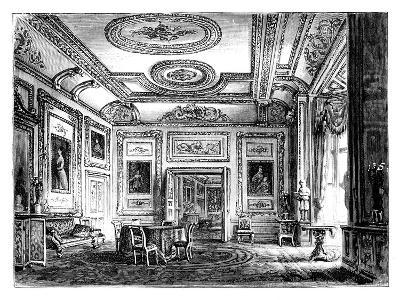 Thw White Drawing Room, Windsor Castle, C1888--Giclee Print