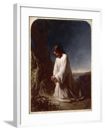 Thy Will be Done'-Cecil Aldin-Framed Giclee Print