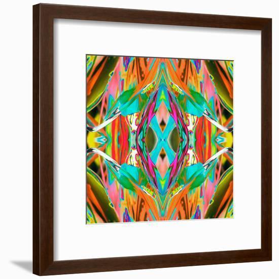 Ti Plant 2X-Rose Anne Colavito-Framed Art Print