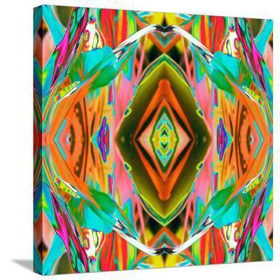 Ti Plant 3X-Rose Anne Colavito-Stretched Canvas Print