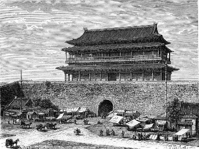 Tiananmen Gate, Peking, China, 19th Century-C Laplante-Giclee Print