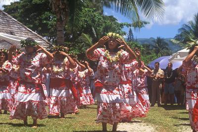 Tiare Tahiti Day, Papeete, Tahiti--Photographic Print
