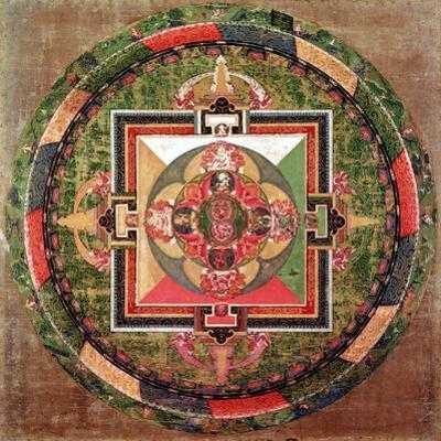 Tibetan Buddhist Mandala