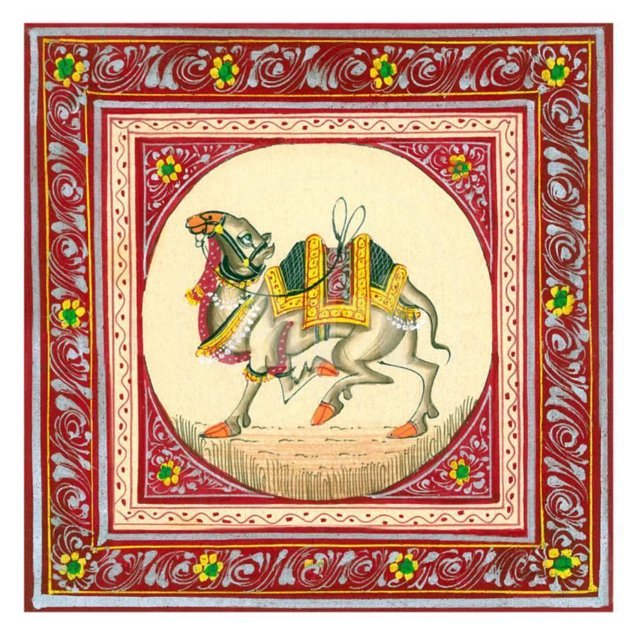 Tibetan Camel Art Print by   Art.com