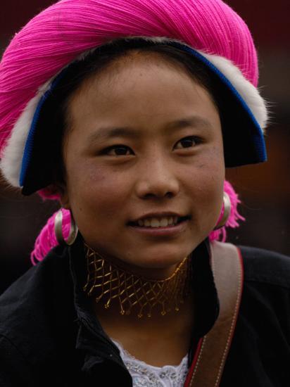 Tibetan Minority at Horse Racing Festival, Zhongdian, Deqin Tibetan Autonomous Prefecture, China-Pete Oxford-Photographic Print