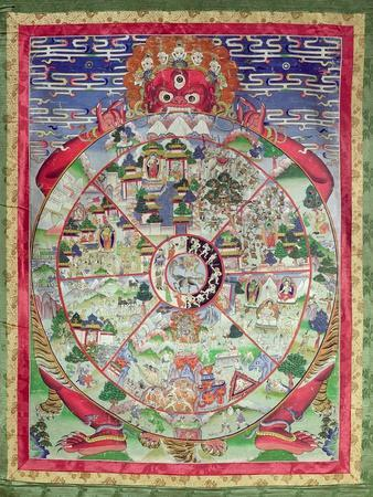 Dharmachakra, Wheel of Transmigratory Existence