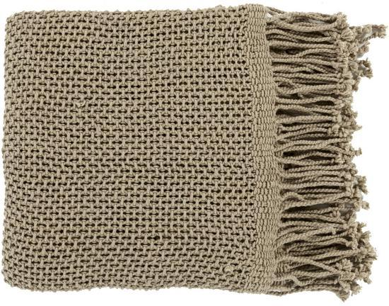 Tibey Throw - Olive--Home Accessories