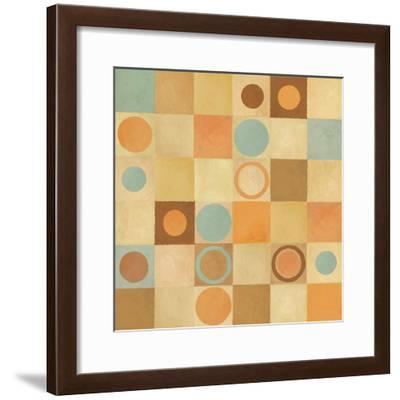 Tic Tac Dots II-Delphine Corbin-Framed Art Print