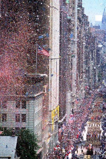 Ticker Tape Parade, New York, New York--Photographic Print