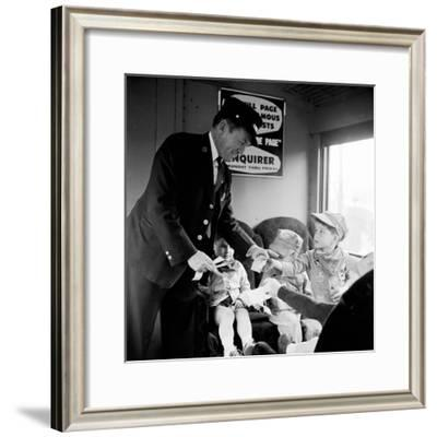 Tickets Please-Nocella-Framed Photographic Print