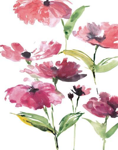 Tickled Pink Posies-Rebecca Meyers-Art Print