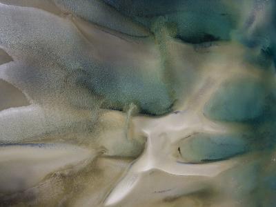 Tidal Beach Patterns-Michael Polzia-Photographic Print