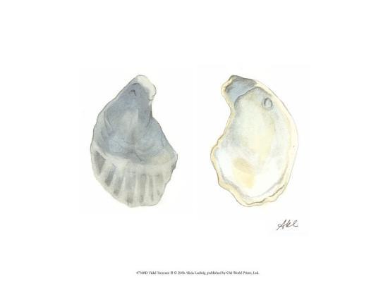 Tidal Treasure II-Alicia Ludwig-Art Print